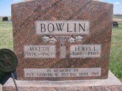 Mattie Amy <I>Mefford</I> Bowlin