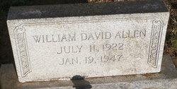 William David Allen