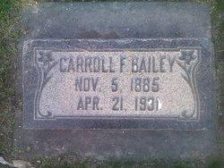 Carroll Fontenelle Bailey