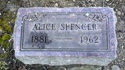 Alice <I>Spencer</I> Bastress
