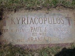 Paul J Kyriacopulos