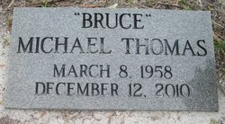 Michael Bruce Thomas (1958-2010) - Find A Grave Memorial