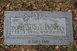 Doris Janell <I>Mullennix</I> Crowley