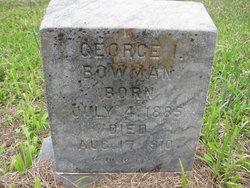George Isaac Bowman