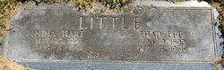 "Thaddeus Lee ""Thad"" Little"