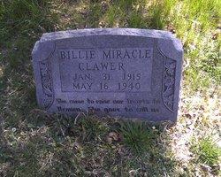"""Lola """"Billie"""" <I>Miracle</I> Clawer"""