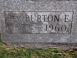 Rev Burton Eugene Butman
