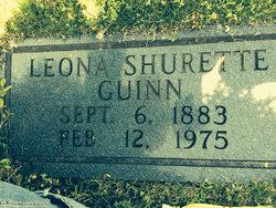 Annie Leona <I>Shurett</I> Guinn