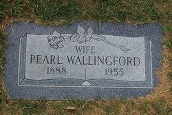 Pearl <I>Gregory</I> Wallingford