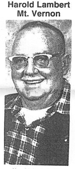 Harold A. Lambert