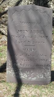 Mary <I>Partridge</I> Abbe