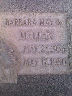 Barbara M <I>Butterfield</I> Mellen
