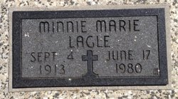 Minnie Marie <I>Rorabaugh</I> Lagle
