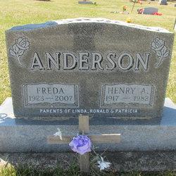 Freda Ione <I>Jackson</I> Anderson
