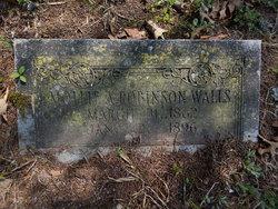 Mollie A. <I>Robinson</I> Walls