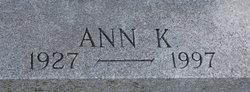 Ann K. <I>Korzybski</I> Turowski