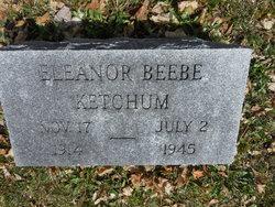 Eleanor M <I>Beebe</I> Ketchum