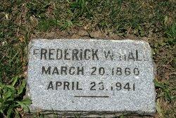 Frederick W Hall