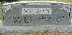 Vada Merle <I>Taylor</I> Wilson