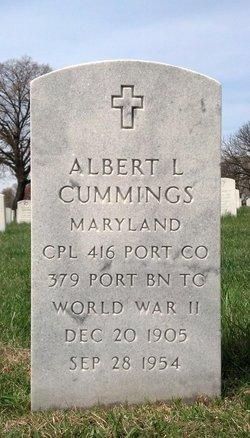 Albert L Cummings