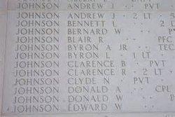 Pvt Edward William Johnson