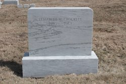 Elizabeth M <I>Grover</I> Crockett