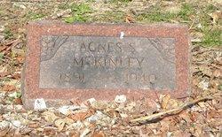 Agnes Susan <I>Crow</I> McKinley