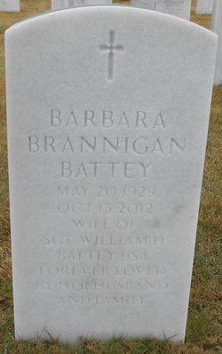 Barbara <I>Brannigan</I> Battey