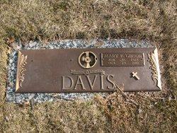 Mary Elizabeth <I>Gibson</I> Davis