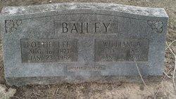 William A Bailey