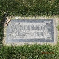 Preston Mchenry