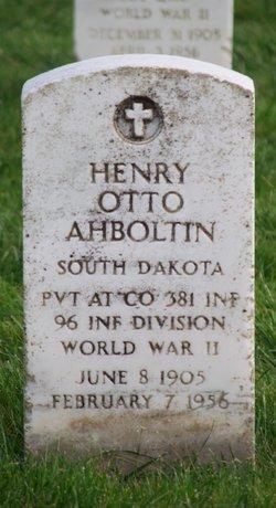 Henry Otto Ahboltin