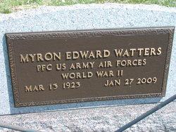 Myron Edward Watters
