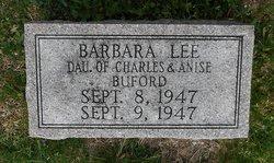Barbara Lee Buford