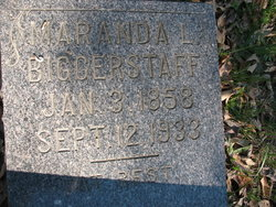 Maranda Louisa <I>Crawford</I> Biggerstaff
