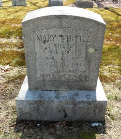 Mary <I>Whittle</I> Moody