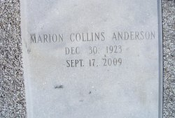 Marion <I>Collins</I> Anderson