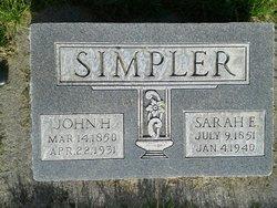 Sarah Shumate Simpler