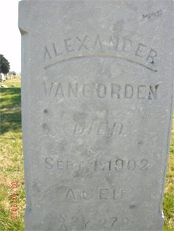 Alexander VanGorden