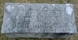 Joseph Carson Alexander