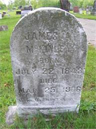 James A McKinley