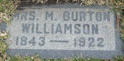 Mrs M. Burton Williamson