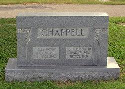 "John Robert ""Chap"" Chappell Jr."