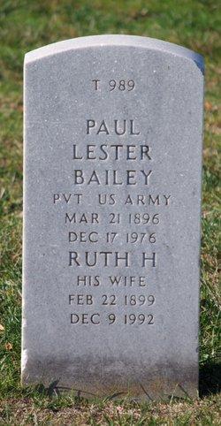Ruth H Bailey