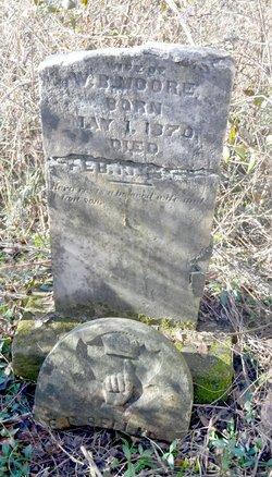 Elizabeth Parthenia <I>Sellars</I> Moore
