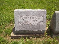 Pauline <I>Druley</I> Kaufman