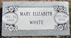 Mary Elizabeth Ellen <I>Martin</I> White