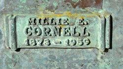 Millie E Cornell