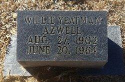 Willie M <I>Yeatman</I> Azwell