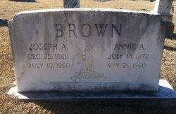 Annie A <I>Cooper</I> Brown
